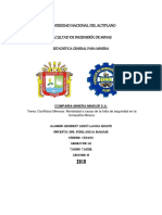 Compañia Minera MINSUR Y Tabla De Frecuencias.docx