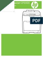 Impressora HP CP 3505
