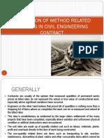Application of Mrc in Civil Engineering Bqs