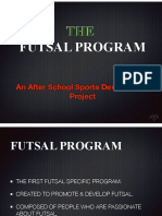 City Futsal Program Presentation