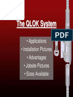 Qlok System by Barsplice Products