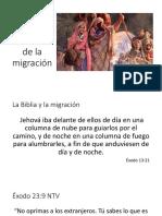 Rostros de la migración