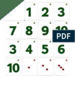 numeration etiquettes