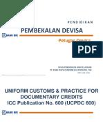 UCP 600_Materi Petugas Devisa 2016_Revisi