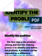Identify the Problems