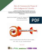 Política de comunicación propia comunidades indígenas