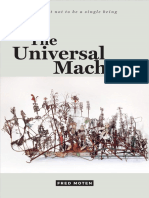 Fred Moten the Universal Machine Consent Not to Be a Single Being