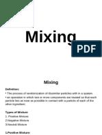 Mixing PDF