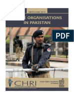 Police Organisations in Pakistan