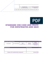 _fm-Hra-0062 Standard Job Code and Professions for Expatriates and Saudis