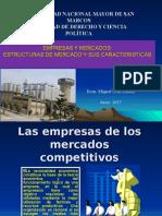 Empresas y Mercados Competencia Perfecta y Monopolio