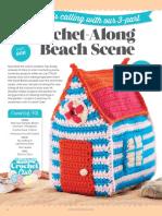Crochet Along Beach Scene part 1