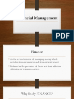 Finacial Management Report