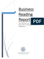 Business Reading Report