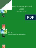 JavaScript Controls and Loops