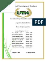 Informe Del Silogismo Juridico Origifinal