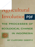 Clifford Geertz - Agricultural involution. The process of ecological change in Indonesia (1963, University of Californi.pdf