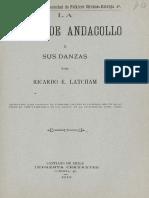 """Chile - """"La fiesta de Andacollo y sus danzas"""" (1910)"""