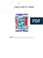 Information & Communication Technology (Mandatory Course) Worksheets for Theory Notes.doc