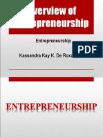Entrepreneurship & Its Benefits