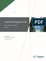 Flood Risk Management Plan