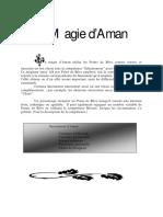 Magie d'Aman Complément du jeux de rôle Tiers Age