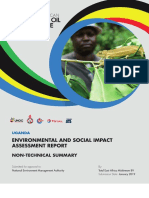 East African Crude Oil Pipeline environmental and social impact assessment report