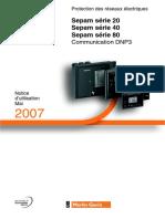 Notice Sepam DNP3 FR