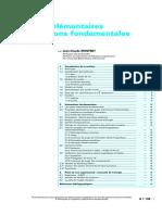 Particules Élémentaires Et Interactions Fondamentales