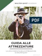 Guida alle attrezzature fotografiche