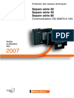 Notice Sepam IEC103 FR