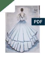desain baju pesta