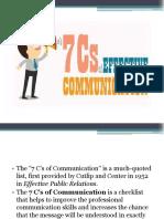 7'Cs of Communication