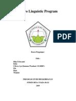 Neuro Linguistic Program COVER