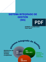 Sistema Integrado Gestion