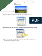 Tutorial Efek Tulisan Dengan PhotoShop
