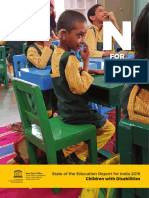 N for Nose - State of the Education Report for India 2019 - Children for Disabilities_368780eng