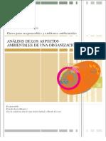 Analisis de Los Aspectos Ambient Ales de Una Institucion