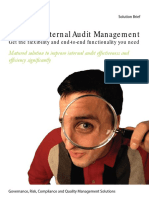 Internal Audit Solutionbrief
