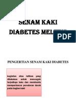 Senam Kaki Diabetes Melitus