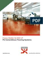 Brochure Fosroc SL3000 UT-AGF