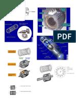 Motor Trifasico Asincrono Con Rotor en Jaula de Ardilla