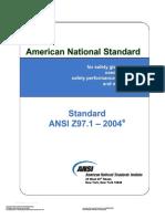 ANSI Z97.1