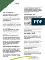 Chickenpox Info Sheet 20151221