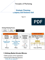 Topic 2 Strateic Marketing Planning V2.0