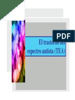 EL TRASTORNO DEL ESPECTRO AUTISTA
