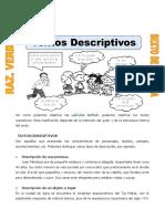 Textos Descriptivos Para Sexto de Primaria