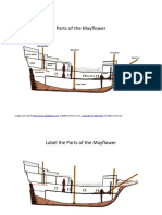 Parts of the Mayflower