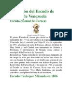 Evolución del Escudo Nacional de Venezuela