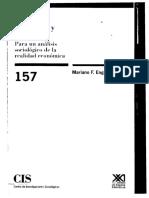 Mariano F. Enguita - Economía y Sociología